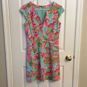 Lilly pulitzer Briella dress in the vias small